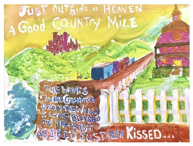Good Country Mile Revisited (white border)