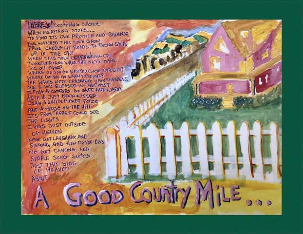 Good Country Mile (green border)
