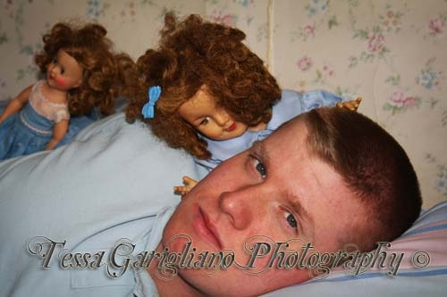 Man vs. Doll