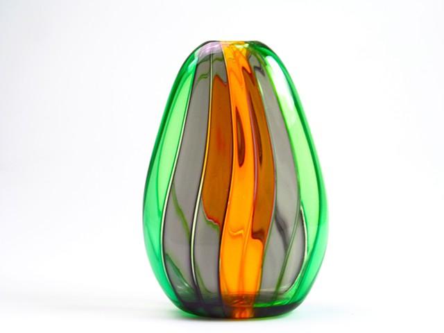 Veiled Cane Vase
