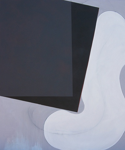 """Chris D Smith, Chicago, IL Artist, Abstract Painter, Untitled IM3, 2008, acrylic, charcoal and oil on canvas, 60"""" x 50"""""""
