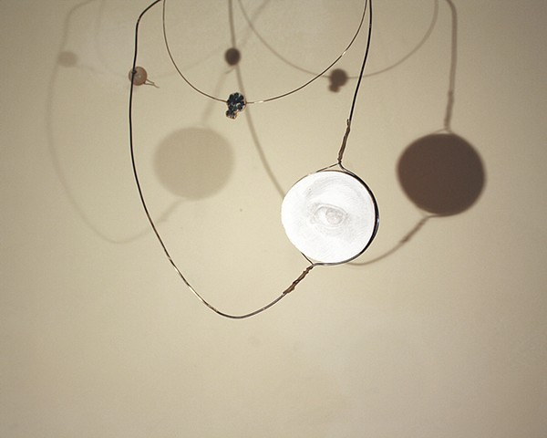 necklace (installation view)
