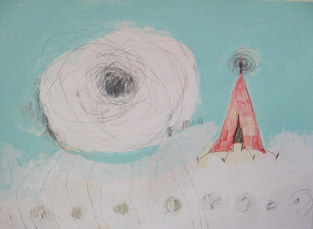 UFO Series Drawing #31