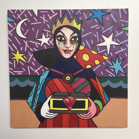 Evil Queen, After Romero Britto