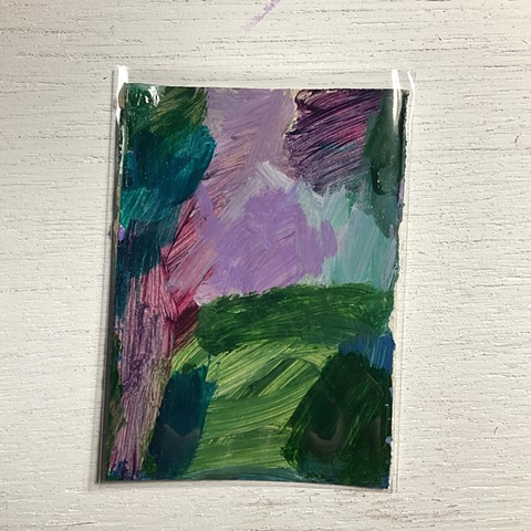 abstract painting, abstract, art, art card, aceo, artist, Rochester NY, Studio Harpy, Rina Miriam Drescher