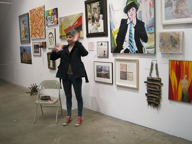 Rochester Contemporary Art Center, 21st Annual Members Exhibition, Artist Talk