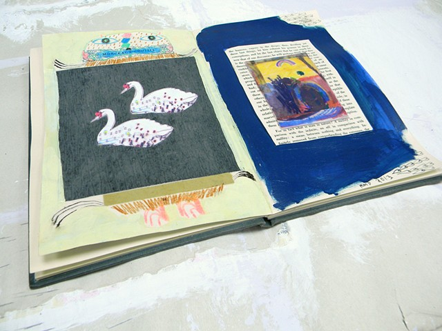 The World Traveling Art Book, Rina Miriam Drescher, Rochester NY, mail art