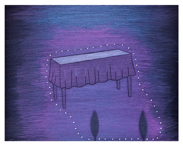 Lop Lop's Table (deep purple)