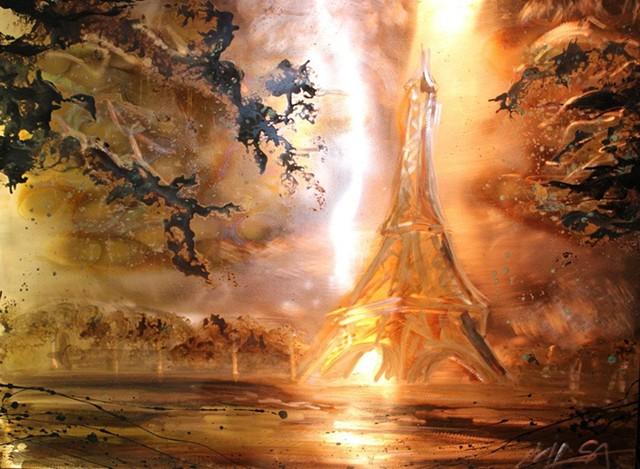 Traditional landscapes Paris