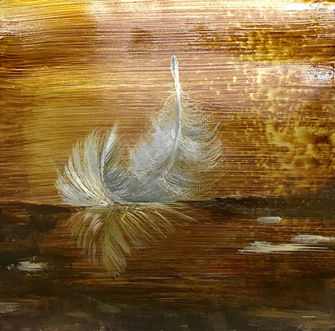 Feather water sepia 3