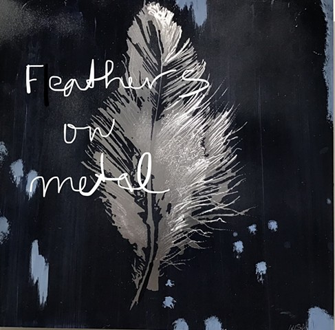 FEATHERS on Metal