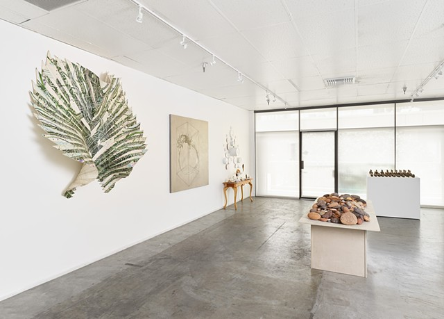 Installation view; exhibition Carbon Allotropes: Visceral & Ethereal, an Artist's Response