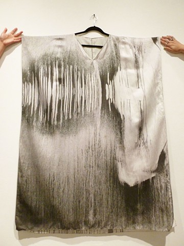 Flourish from Fire: Untitled Wearable Photograph on textile