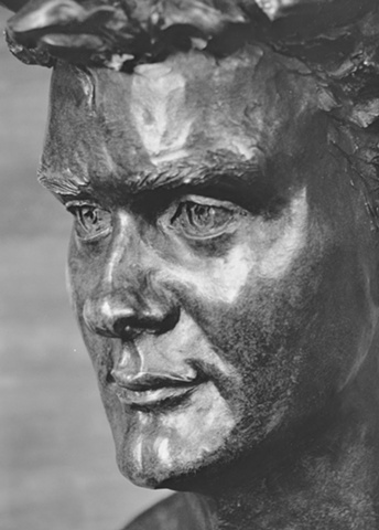Hugh Bonneville  Kitty Blandy sculpture