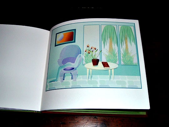 interior spread, art