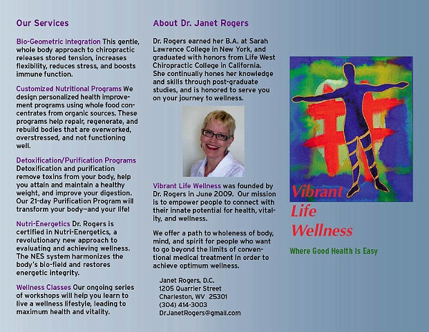 Vibrant Life Wellness Brochure
