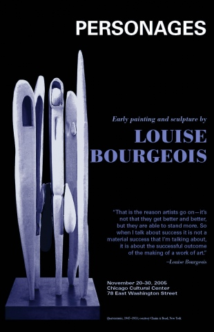 Louise Bourgeois poster