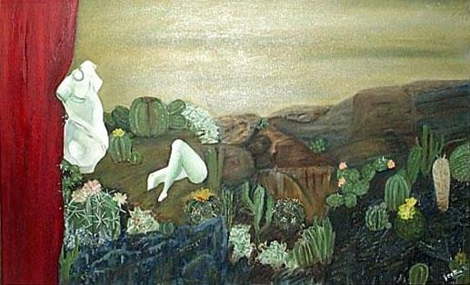 Venus in cactus