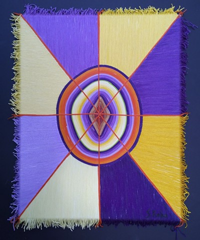 Untitled (Yellow, Purple, Orange)