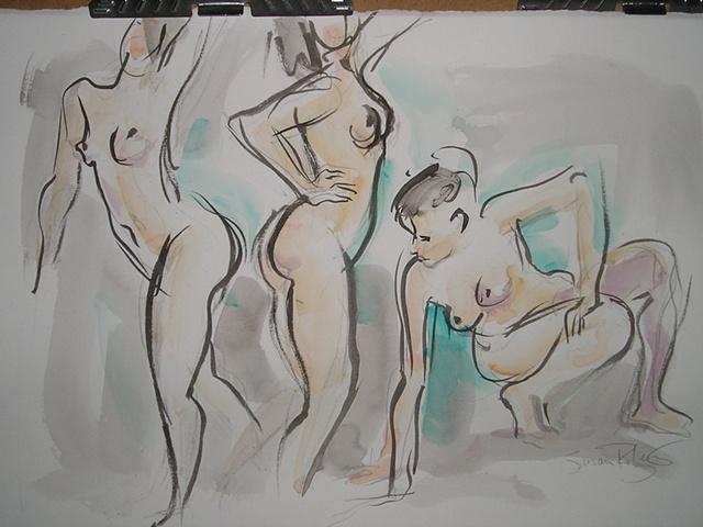 Gesture Drawing III
