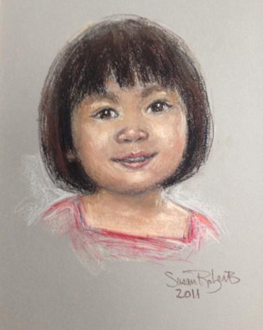 Asian toddler
