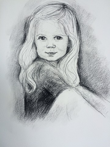 Portrait of a small child