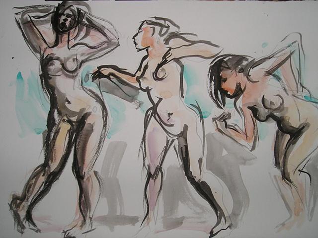 Gesture Drawing II