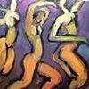 Three Figures Dancing