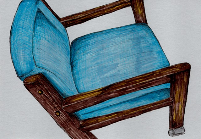 blue chair 3