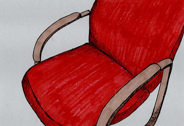 red chair 3