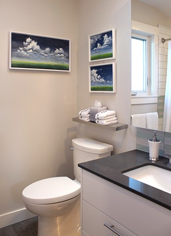Clouds, master bathroom