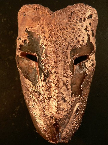 Glass and Copper Electroforming Nahimana Mask