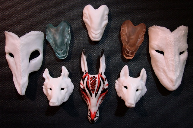 Resin Glass Nahimana Masks