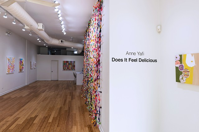Does It Feel Delicious Kruger Gallery Chicago April 20 - June 24, 2017