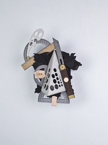 Golem #45; cuckoo clock with tools