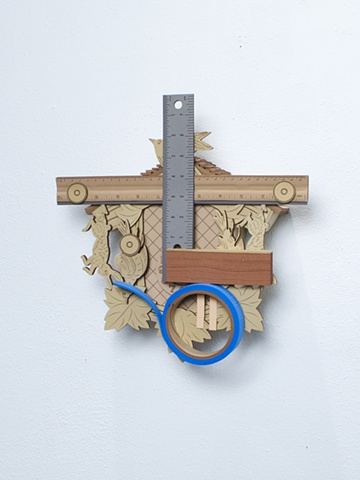 Golem #2; cuckoo clock with tools
