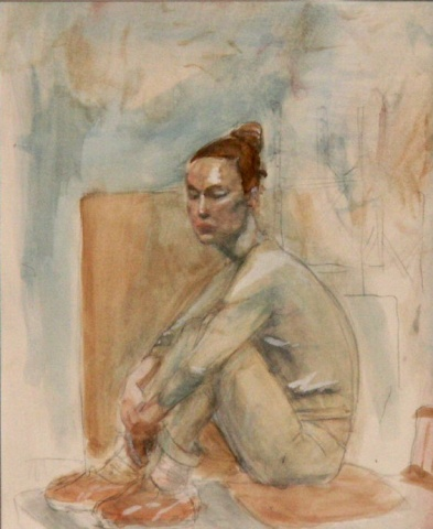 watercolor-model