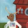 Danny the Astronaut Deer! (1st book, ver.1)