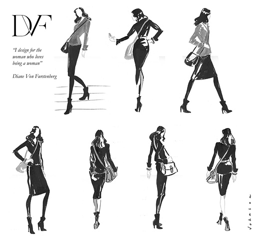 Diane Von Furstenberg New York Fashion Week Program