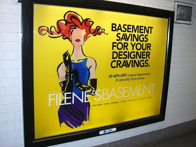 Filene's Basement/ 14th Street Subway Station, NYC