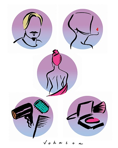 Icons for Hair & Beauty Conference