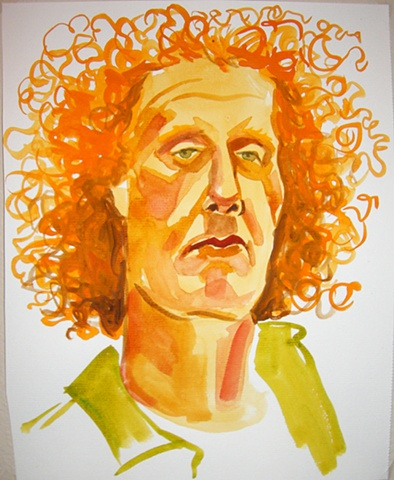 Steve Huson, Artist and Wild Hair Man