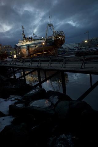 ship mirror reykjavik, iceland
