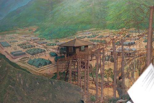 North Korean POW camp