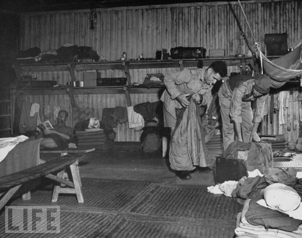 POW barracks