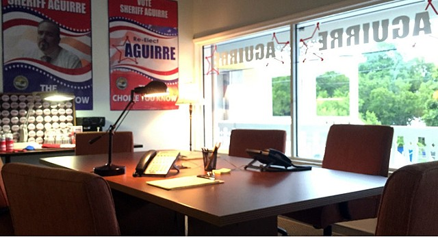 Aguirre's Campaign Office