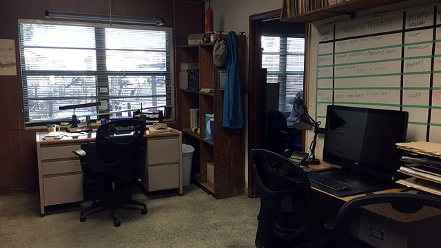 Kevin's Boatyard Office