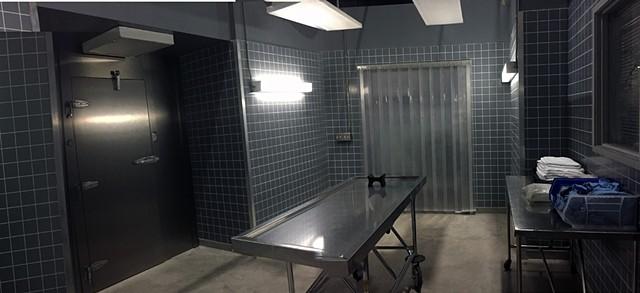 Morgue Viewing Room