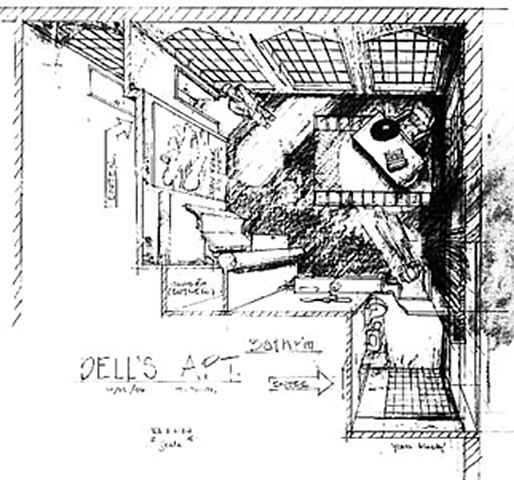 Dell's Loft Sketch