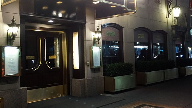 Daniel's Restaurant, NYC